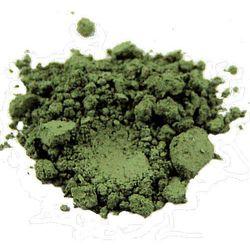 Cień do powiek Rhea- Green clay, kosmetyk mineralny