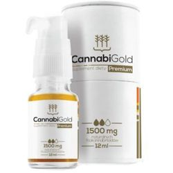 CannabiGold - Premium 15% CBD 1500mg - 12ml