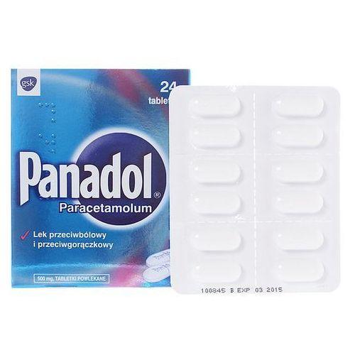 Leki na gorączkę, Panadol tabl.x 24