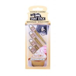 Zapach YANKEE car vent stick Vanilla Cupcake 4szt - YCVSVC