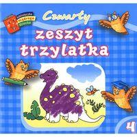 Książki dla dzieci, Czwarty zeszyt trzylatka. Biblioteczka mądrego dziecka (opr. broszurowa)