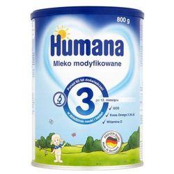 HUMANA 3 800g Mleko modyfikowane Po 12 miesiącu