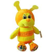 Pozostałe zabawki, Maskotka Pszczółka Maciejka pomarańczowa 23 cm
