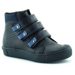 Buty zimowe dla dzieci Kornecki 06014 - Granatowy Obuwie zimowe -30% (-30%)