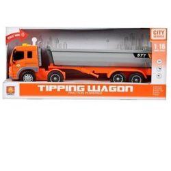 Auto ciężarowe wywrotka światło i dźwięk