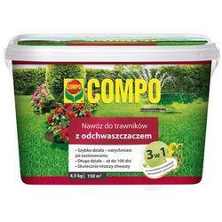 Nawóz do trawnika 4.5 kg 3w1 z odchwaszczaczem COMPO