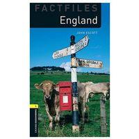 Książki do nauki języka, England The Oxford Bookworms Library Factfiles Stage 1 (400 Headwords) (opr. miękka)