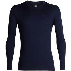 Icebreaker 200 Oasis Koszulka z długim rękawem Mężczyźni, midnight navy M 2019 Podkoszulki z długim rękawem