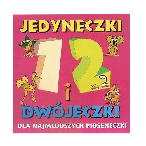 Piosenki dla dzieci, Różni Wykonawcy - Jedyneczki i Dwójeczki cz2 (CD)