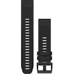 Garmin QuickFit Skórzany pasek do zegarka 22mm, black 2019 Akcesoria do zegarków