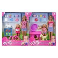 Pozostałe zabawki, Steffi i Evi ze zwierzątkami, różne rodzaje