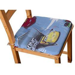 Dekoria Siedzisko Olek na krzesło, samochody na niebieskim tle, 42x41x3,5cm, Freestyle do -30%