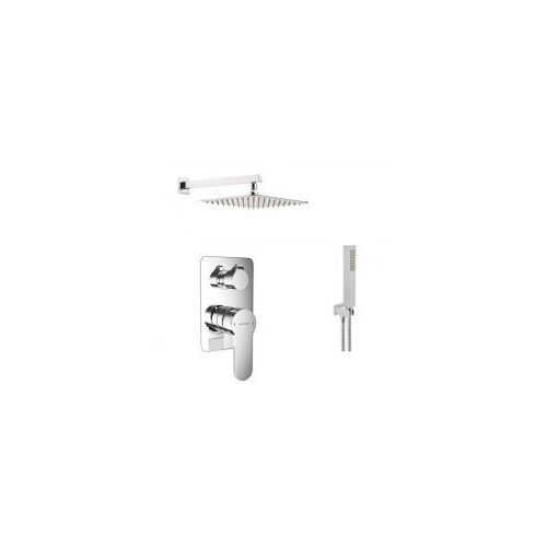 Podtynkowy zestaw prysznicowy z baterią Excellent Oxalia AREX.9045CR, chrom ZEST225