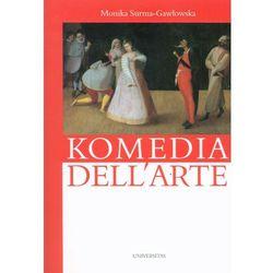 Komedia dell'arte-wyprzedaż (opr. miękka)
