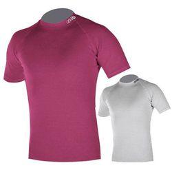 Koszulka dziecięca Fly Termo Duo inSPORTline z krótkim rękawem, Biały, XS (98-104)