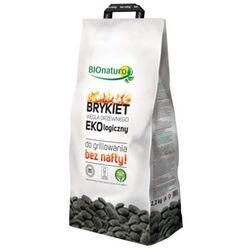 BIONATURO 2,2kg Brykiet węgla drzewnego Ekologiczny
