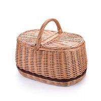 Koszyki, Piknik bagażowy wiklinowy kosz