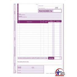 Rachunek dla zwolnionych podmiotowo z VAT /Pionowa/ 233-3 - Michalczyk i Prokop