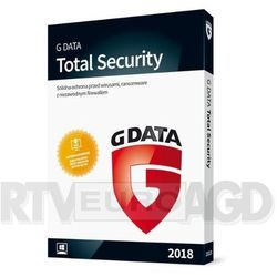 G Data Total Security 2018 3PC/12m-cy BOX
