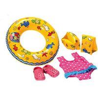 Pozostałe lalki i akcesoria, Heless zestaw plażowy dla lalek - BEZPŁATNY ODBIÓR: WROCŁAW!