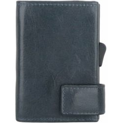 SecWal SecWal 2 Kreditkartenetui Geldbörse RFID Leder 9 cm blau ZAPISZ SIĘ DO NASZEGO NEWSLETTERA, A OTRZYMASZ VOUCHER Z 15% ZNIŻKĄ