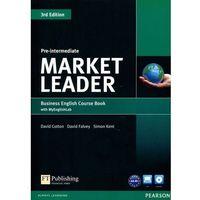 Książki do nauki języka, Market Leader Third Edition Pre-Intermediate. Podręcznik + CD + My English Lab (opr. miękka)