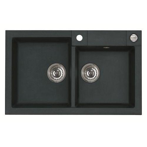 Alveus Zlew rock 90 czarny + deska drewniana // dostępne od ręki // (5901549323382)