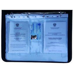 Dodatkowe koszulki na certyfikaty KNC-2-A4 dedykowane do teczki A4 na dokumenty marynarskie EDM5 i EDM6