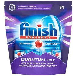 FINISH 54szt Powerball Quantum Max Tabletki do zmywarki