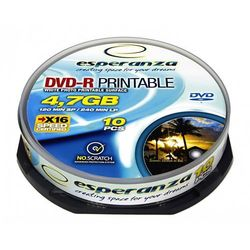 DVD-R 4,7GB PRINTABLE CAKE 10