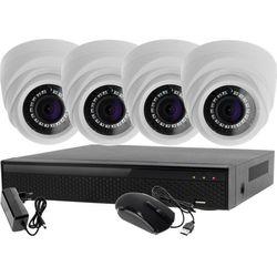 Monitoring Zestaw 4W1: 4x Kamera LV-AL1M2FDPWH + Rejestrator 4 kanałowy LV-XVR44N P2P