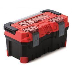 Spora Mocna Skrzynka Narzędziowa TITAN PLUS 20A Czerwona Prosperplast