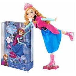 Lalka Anna Kraina Lodu Frozen Magiczna Łyżwiarka CBC62