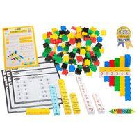 Klocki dla dzieci, Morphun - Matematyczne zabawy 175 el. - Klocki edukacyjne