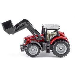 Siku 14 - Traktor Massey Ferguson z przednią ład.