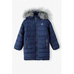 Granatowa kurtka zimowa 3A4103 Oferta ważna tylko do 2031-10-06