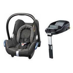 Fotelik samochodowy Cabrio Fix 0-13 kg + Baza Family Fix Maxi-Cosi (Triangle Black)