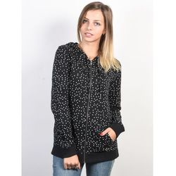 Roxy TRIPPIN PRINTED TRUE BLACK DOTS FOR DAYS bluza damska - L