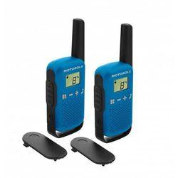 Radiotelefon MOTOROLA Talkabout T42 Niebieski + Zamów z DOSTAWĄ JUTRO! + DARMOWY TRANSPORT!