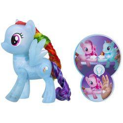 My Little Pony Świecący Kucyk - Rainbow Dash - BEZPŁATNY ODBIÓR: WROCŁAW!