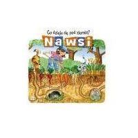 Książki dla dzieci, Co się dzieje pod ziemią. Na wsi (opr. twarda)