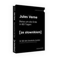 Słowniki, encyklopedie, W 80 dni dookoła świata wersja niemiecka ze słownikiem - Jules Verne (opr. miękka)