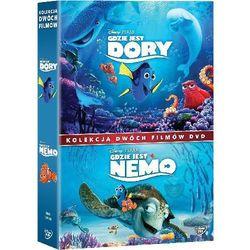 GDZIE JEST DORY/GDZIE JEST NEMO - PAKIET 2 FILMÓW (2DVD) (Płyta DVD)