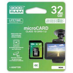 Karta pamięci GOODRAM MicroSDHC 32GB + Adapter + Zamów z DOSTAWĄ JUTRO!