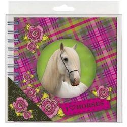 Pamiętnik spiralny Konie