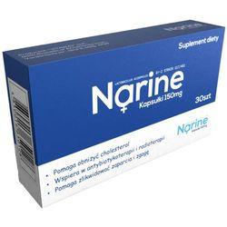 Narine probiotyk Lactobacillus Acidophilus Er-2 STRAIN 317/402 150 mg 30 kapsułek Narine