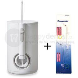 Panasonic EW1611zestaw irygator dentystyczny + dwie dodatkowe końcówki wymienne w PROMOCJI