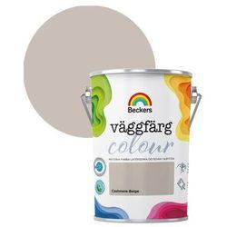Farba lateksowa Beckers Vaggfarg Colour cashmere beige 5 l