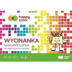 BLOK Wycinanka Samoprzylepna HAPPY COLOR A4/8K