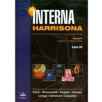 Książki medyczne, Interna Harrisona T3 (opr. twarda)